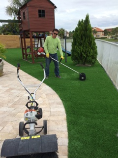 artificial grass maintenance west palm beach