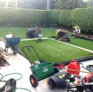 artificial grass repair west palm beach